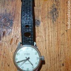 Relojes de pulsera: ANTIGUO RELOJ DE PULSERA, MANUAL, DE MUJER, VOGA 17 RUBIS ANTICHOC. Lote 215839640