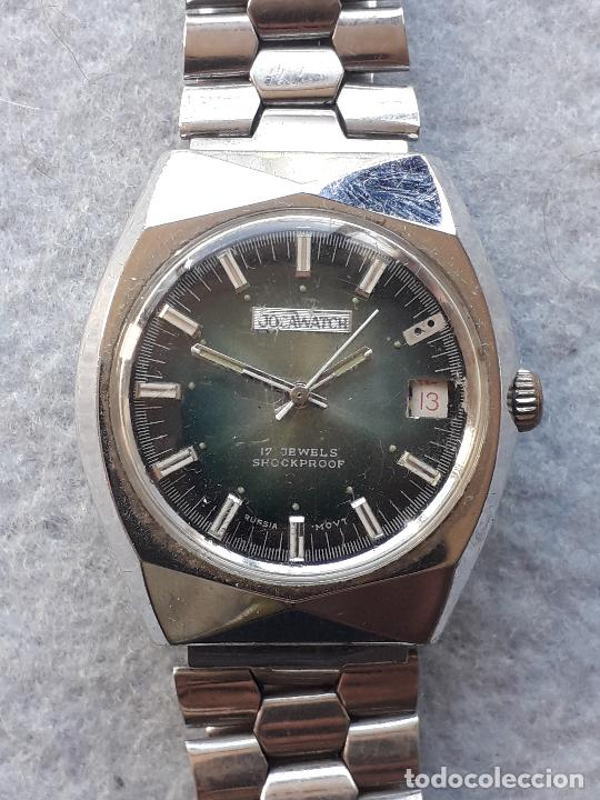 Relojes de pulsera: Reloj marca Jocawatch. Clásico de caballero. Funcionando. - Foto 8 - 216362481
