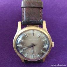 Relojes de pulsera: ANTIGUO RELOJ DE PULSERA SUPER WATCH. SWISS. CARGA MANUAL-CUERDA.EN FUNCIONAMIENTO.AÑOS 60.CABALLERO. Lote 216575686
