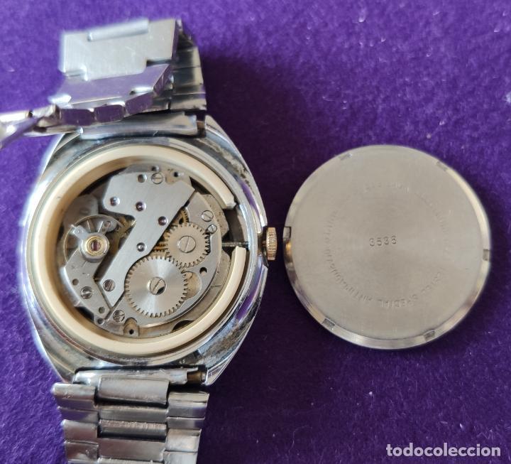 Relojes de pulsera: ANTIGUO RELOJ DE PULSERA SUPER WATCH. SWISS. CARGA MANUAL-CUERDA.EN FUNCIONAMIENTO.AÑOS 60.CABALLERO - Foto 4 - 216575907