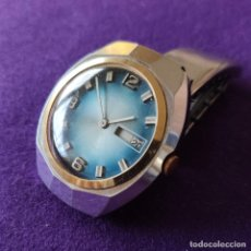 Relojes de pulsera: ANTIGUO RELOJ DE PULSERA SUPER WATCH. SWISS. CARGA MANUAL-CUERDA.EN FUNCIONAMIENTO.AÑOS 60.CABALLERO. Lote 216575907