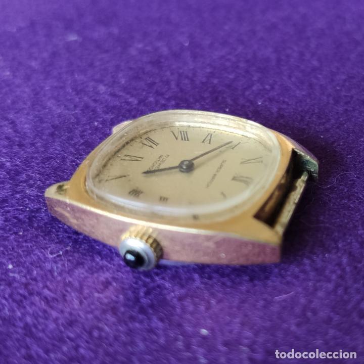 Relojes de pulsera: ANTIGUO RELOJ DE PULSERA SUPER WATCH. SWISS. CARGA MANUAL-CUERDA.EN FUNCIONAMIENTO.AÑOS 60.SEÑORA. - Foto 3 - 216575995