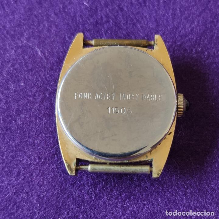 Relojes de pulsera: ANTIGUO RELOJ DE PULSERA SUPER WATCH. SWISS. CARGA MANUAL-CUERDA.EN FUNCIONAMIENTO.AÑOS 60.SEÑORA. - Foto 4 - 216575995