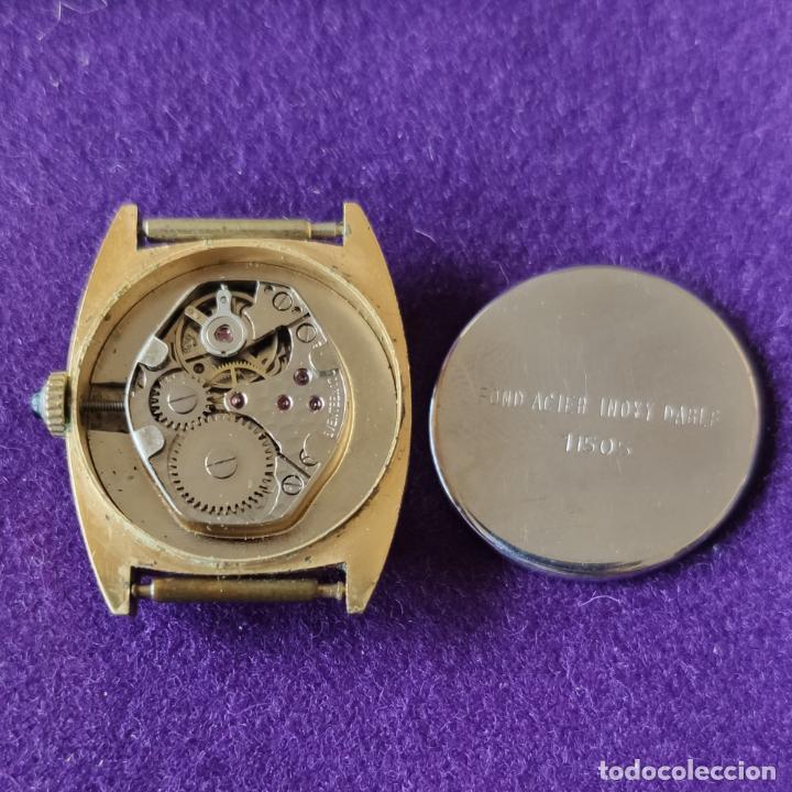 Relojes de pulsera: ANTIGUO RELOJ DE PULSERA SUPER WATCH. SWISS. CARGA MANUAL-CUERDA.EN FUNCIONAMIENTO.AÑOS 60.SEÑORA. - Foto 5 - 216575995