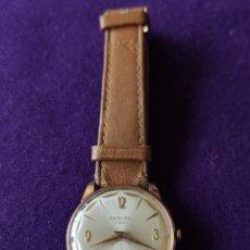Relojes de pulsera: ANTIGUO RELOJ DE PULSERA ROSBU. SWISS. CARGA MANUAL-CUERDA.EN FUNCIONAMIENTO.AÑOS 60.CABALLERO.. Lote 216576378