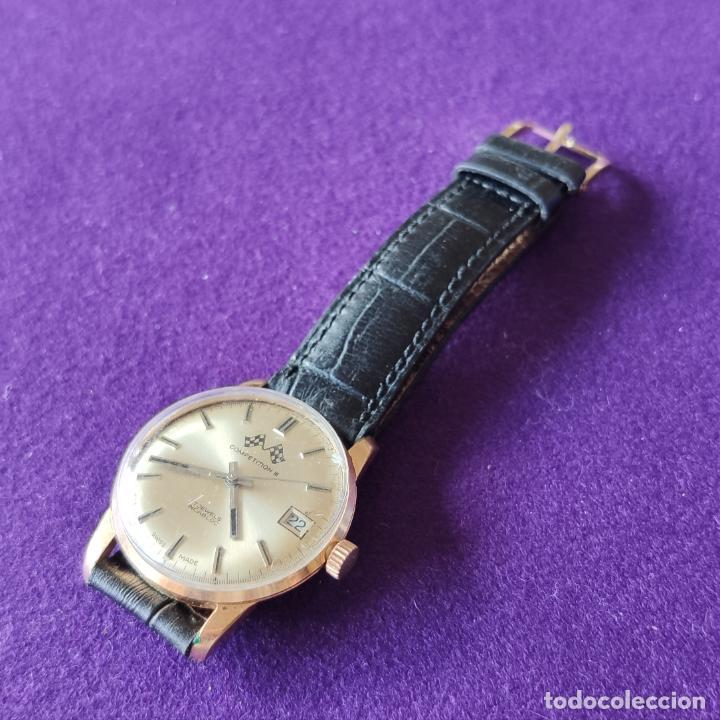 Relojes de pulsera: ANTIGUO RELOJ DE PULSERA COMPETITION. SWISS. CARGA MANUAL-CUERDA.EN FUNCIONAMIENTO.AÑOS 60.CABALLERO - Foto 3 - 216576511