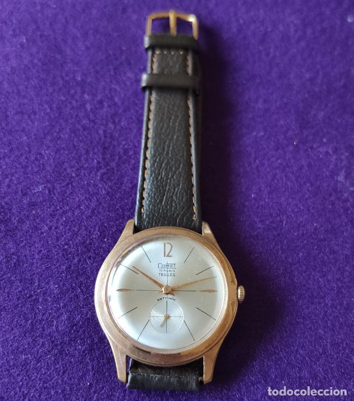 Relojes de pulsera: ANTIGUO RELOJ DE PULSERA COMPETITION. SWISS. CARGA MANUAL-CUERDA.EN FUNCIONAMIENTO.AÑOS 60.CABALLERO - Foto 4 - 216576511