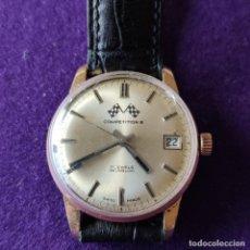 Relojes de pulsera: ANTIGUO RELOJ DE PULSERA COMPETITION. SWISS. CARGA MANUAL-CUERDA.EN FUNCIONAMIENTO.AÑOS 60.CABALLERO. Lote 216576511