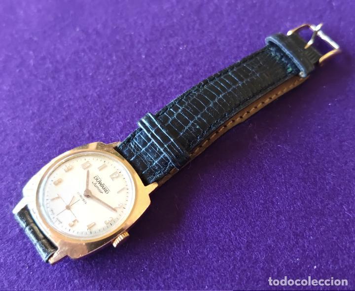 Relojes de pulsera: ANTIGUO RELOJ DE PULSERA DUWARD JUNIOR. SWISS. CARGA MANUAL-CUERDA.EN FUNCIONAMIENTO.AÑOS 60.CADETE - Foto 2 - 216576826