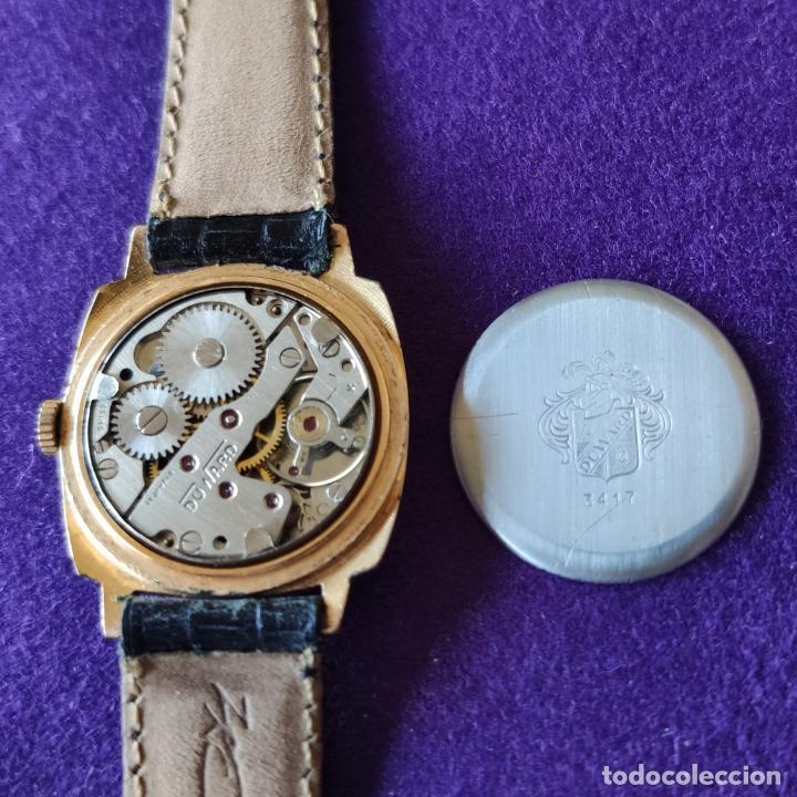 Relojes de pulsera: ANTIGUO RELOJ DE PULSERA DUWARD JUNIOR. SWISS. CARGA MANUAL-CUERDA.EN FUNCIONAMIENTO.AÑOS 60.CADETE - Foto 4 - 216576826