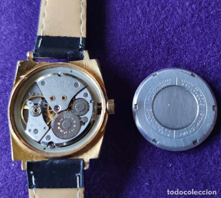Relojes de pulsera: ANTIGUO RELOJ DE PULSERA CITIZEN NEW MASTER 33. JAPAN. CARGA MANUAL-CUERDA. AÑOS 60. CABALLERO - Foto 3 - 216579598