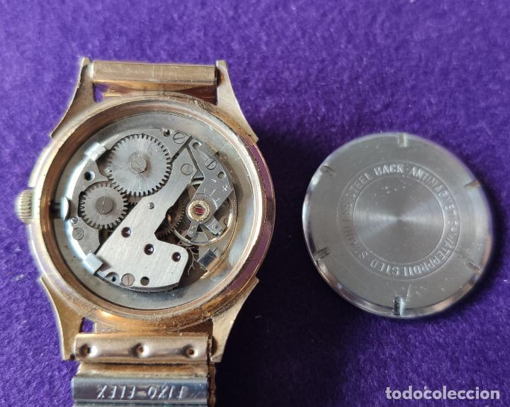 Relojes de pulsera: ANTIGUO RELOJ DE PULSERA GIRA WATCH. 15 RUBIS. SWISS. CARGA MANUAL-CUERDA. AÑOS 60. CABALLERO - Foto 3 - 216580355