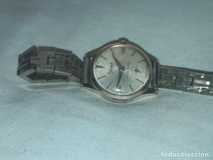 ANTIGUO RELOJ MANUAL DE SEÑORA RADIANT 15 RUBIS AÑOS 50/60 BAÑO ORO PLAQUE G-10 MICAS ANTIMAGNETIC (Relojes - Pulsera Carga Manual)