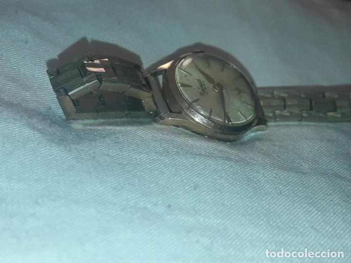 Relojes de pulsera: Antiguo reloj manual de señora Radiant 15 rubis años 50/60 baño oro plaque G-10 micas antimagnetic - Foto 2 - 216591770