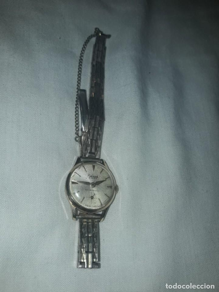 Relojes de pulsera: Antiguo reloj manual de señora Radiant 15 rubis años 50/60 baño oro plaque G-10 micas antimagnetic - Foto 9 - 216591770