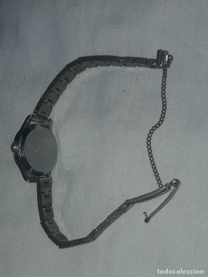 Relojes de pulsera: Antiguo reloj manual de señora Radiant 15 rubis años 50/60 baño oro plaque G-10 micas antimagnetic - Foto 13 - 216591770