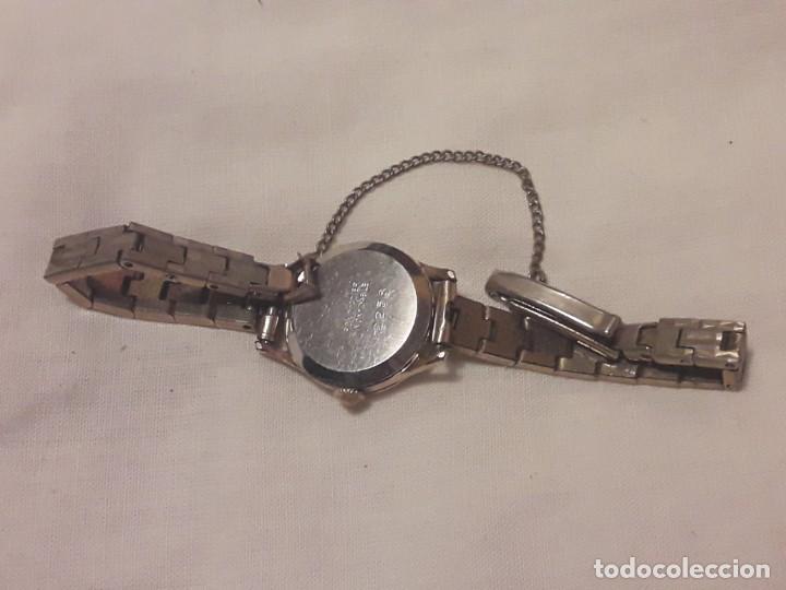 Relojes de pulsera: Antiguo reloj manual de señora Radiant 15 rubis años 50/60 baño oro plaque G-10 micas antimagnetic - Foto 15 - 216591770