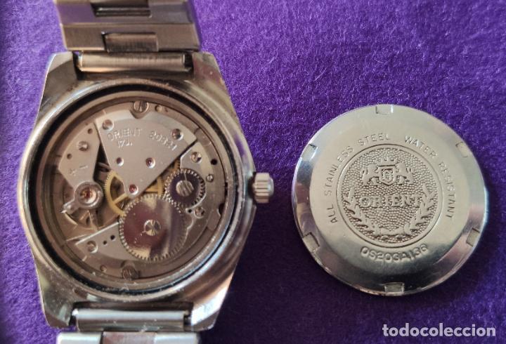 Relojes de pulsera: ANTIGUO RELOJ DE PULSERA ORIENT. 17 RUBIS. JAPAN. CARGA MANUAL-CUERDA. AÑOS 60. CABALLERO - Foto 4 - 216842397
