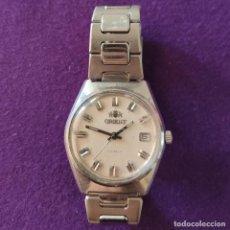 Relojes de pulsera: ANTIGUO RELOJ DE PULSERA ORIENT. 17 RUBIS. JAPAN. CARGA MANUAL-CUERDA. AÑOS 60. CABALLERO. Lote 216842397