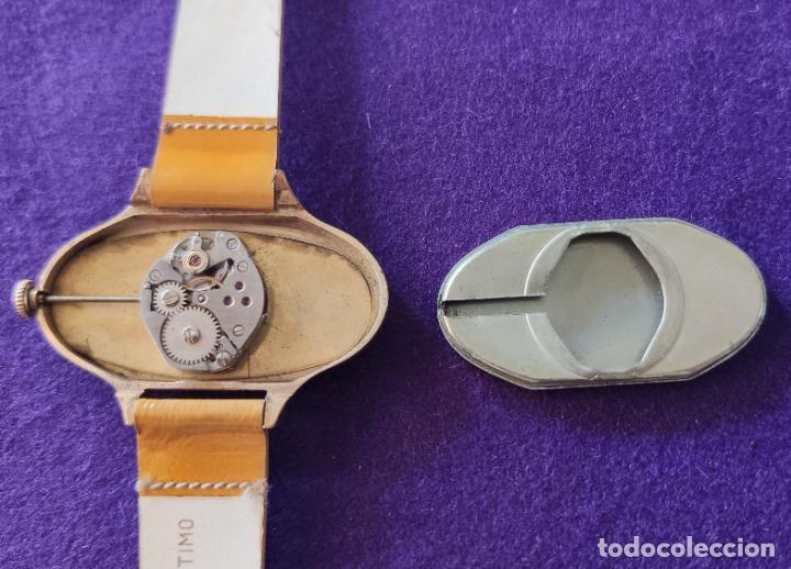 Relojes de pulsera: ANTIGUO RELOJ DE PULSERA VERNI. CARGA MANUAL-CUERDA. AÑOS 60. - Foto 4 - 216842528