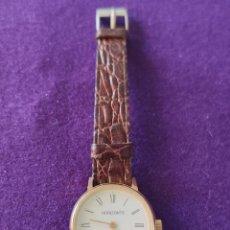 Relojes de pulsera: ANTIGUO RELOJ DE PULSERA HORIZONTE. 17 RUBIS. CARGA MANUAL-CUERDA. AÑOS 60. SEÑORA.. Lote 216842987