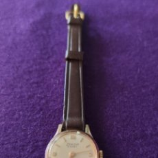 Relojes de pulsera: ANTIGUO RELOJ DE PULSERA EXACTUS. SWISS. 15 RUBIS. CARGA MANUAL-CUERDA. AÑOS 60. SEÑORA.. Lote 216843111