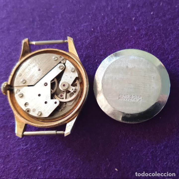 Relojes de pulsera: ANTIGUO RELOJ DE PULSERA SECORY. SWISS. CARGA MANUAL-CUERDA. NECESITA AJUSTE Y LIMPIEZA. AÑOS 60. - Foto 4 - 216844147