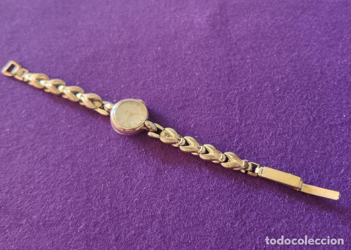 Relojes de pulsera: ANTIGUO RELOJ DE PULSERA A.G.M. SWISS. CARGA MANUAL-CUERDA. NECESITA AJUSTE Y LIMPIEZA. AÑOS 50. - Foto 3 - 216844778
