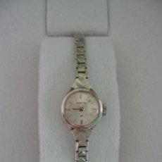 Relojes de pulsera: RELOJ HAMILTON DE MUJER - 1960-1969 CUERDA MANUAL - ORO BLANCO 375-9KT. Lote 216948660
