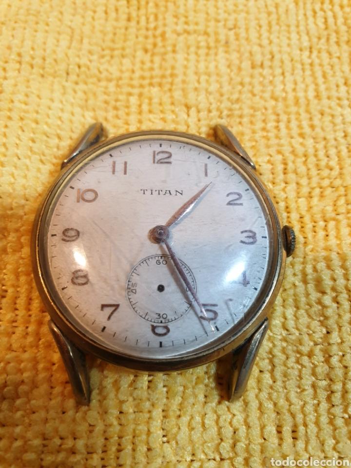 ANTIGUO RELOJ DE CUERDA TITAN (Relojes - Pulsera Carga Manual)
