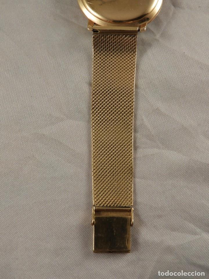 Relojes de pulsera: RELOJ ZENITH DE ORO CON CADENA DE ORO. FUNCIONA CORRECTAMENTE - Foto 8 - 218101380