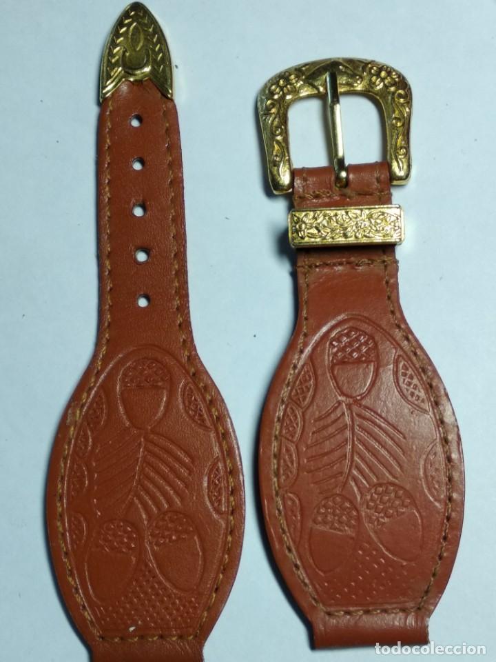 Relojes de pulsera: Correa reloj figura caballo - Foto 2 - 218188271