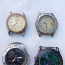 Relojes de pulsera: LOTE 4 RELOJES ANTIGUOS.. Lote 218329335