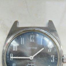 Relojes de pulsera: RELOJ VINTAGE HERMA(DEFECTO). Lote 218479141