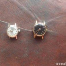 Relojes de pulsera: RELOJES DE CUERDA DE MUJER. Lote 218487023