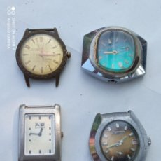 Relógios de pulso: LOTE 4 RELOJES ANTIGUOS.. Lote 218536491