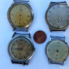 Relojes de pulsera: LOTE 4 RELOJES ANTIGUOS.. Lote 218837220