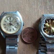 Relojes de pulsera: LOTE DE DOS RELOJES ANTIGUOS MUJER.. Lote 218837752