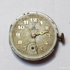 Relojes de pulsera: RELOJ MÁQUINA BASTION CUERDA MANUAL FUNCIONA PERO PARA REPASO. Lote 218859908