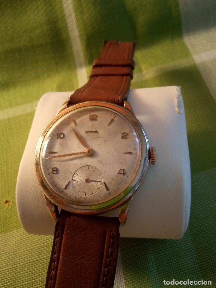 Relojes de pulsera: RELOJ CYMA - AÑOS 50. MANUAL A CUERDA. FUNCIONANDO. P.ORO 20 MICRAS. DESCRIPCION Y FOTOS. - Foto 13 - 218868882