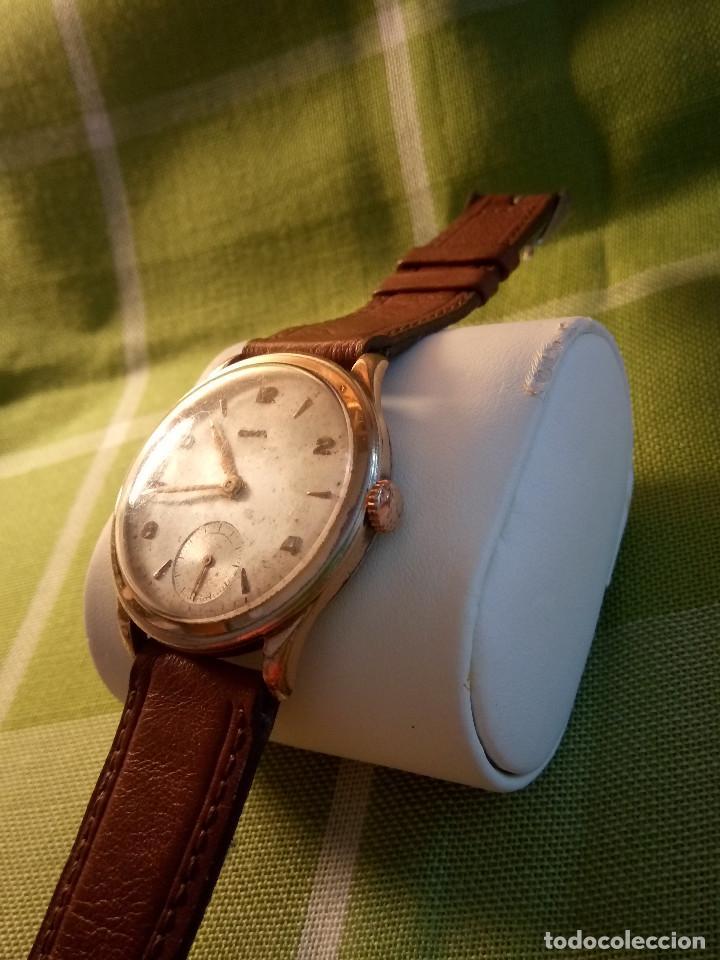 Relojes de pulsera: RELOJ CYMA - AÑOS 50. MANUAL A CUERDA. FUNCIONANDO. P.ORO 20 MICRAS. DESCRIPCION Y FOTOS. - Foto 2 - 218868882