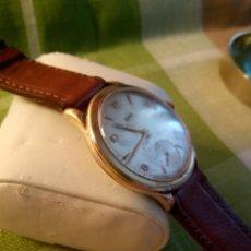 Relojes de pulsera: RELOJ CYMA - AÑOS 50. MANUAL A CUERDA. FUNCIONANDO. P.ORO 20 MICRAS. DESCRIPCION Y FOTOS.. Lote 218868882