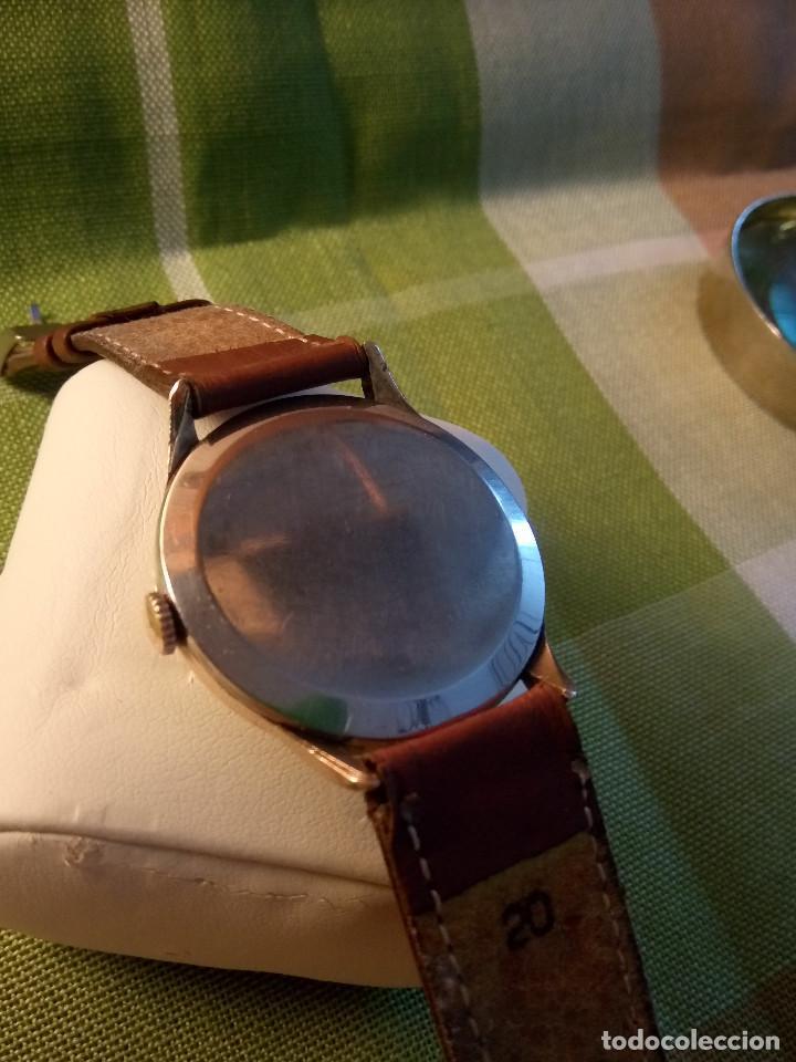 Relojes de pulsera: RELOJ CYMA - AÑOS 50. MANUAL A CUERDA. FUNCIONANDO. P.ORO 20 MICRAS. DESCRIPCION Y FOTOS. - Foto 3 - 218868882