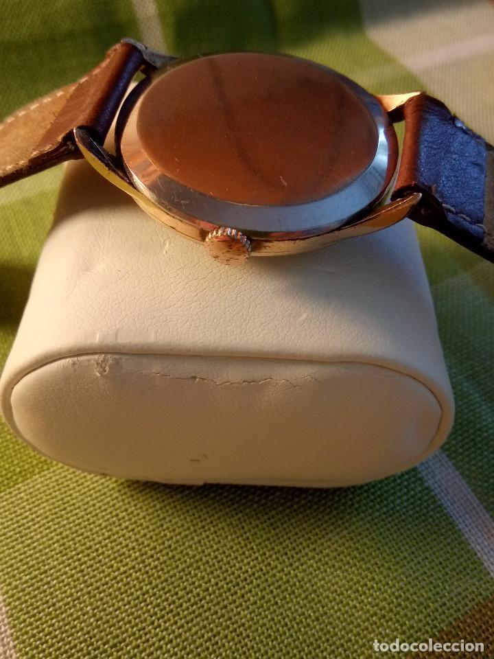 Relojes de pulsera: RELOJ CYMA - AÑOS 50. MANUAL A CUERDA. FUNCIONANDO. P.ORO 20 MICRAS. DESCRIPCION Y FOTOS. - Foto 4 - 218868882