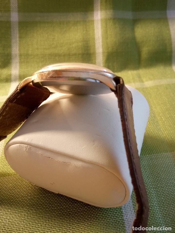Relojes de pulsera: RELOJ CYMA - AÑOS 50. MANUAL A CUERDA. FUNCIONANDO. P.ORO 20 MICRAS. DESCRIPCION Y FOTOS. - Foto 5 - 218868882