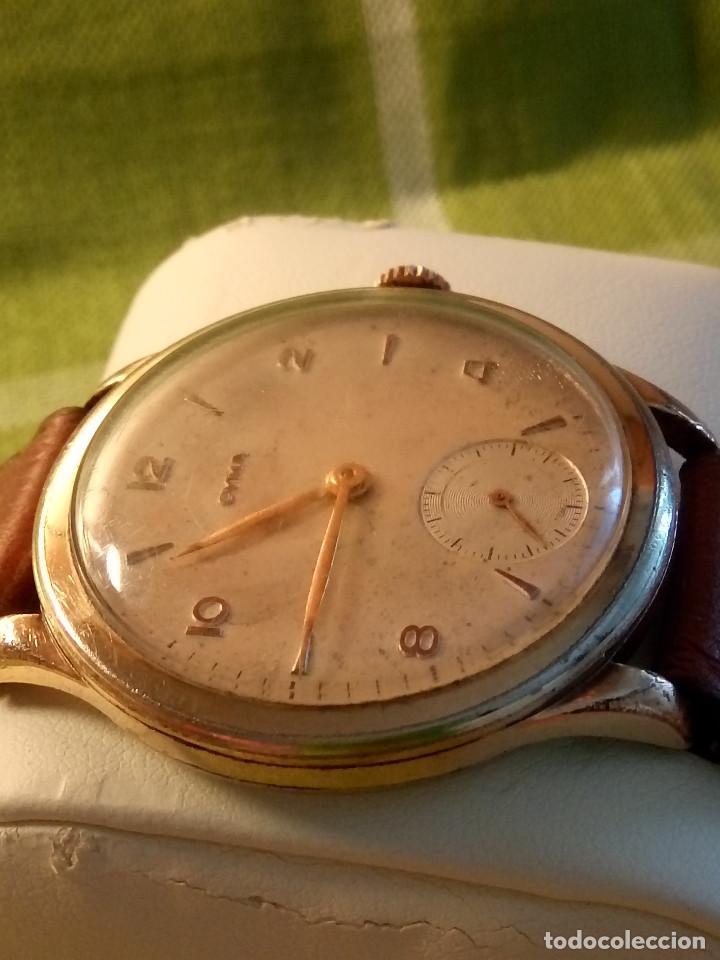 Relojes de pulsera: RELOJ CYMA - AÑOS 50. MANUAL A CUERDA. FUNCIONANDO. P.ORO 20 MICRAS. DESCRIPCION Y FOTOS. - Foto 6 - 218868882