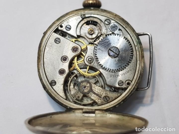 Relojes de pulsera: Reloj Ancora plata 0800 Trinchera 15 jewels Dificil - Foto 2 - 219009475