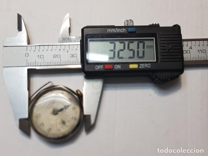 Relojes de pulsera: Reloj Ancora plata 0800 Trinchera 15 jewels Dificil - Foto 4 - 219009475