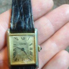 Relojes de pulsera: ANTIGUO RELOJ DE CUERDA CAPRI. Lote 219026342
