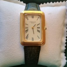 Relojes de pulsera: PRECIOSO RELOJ CERTINA SUIZO BAÑO ORO 10 MICRAS ESTILO CARTIER. Lote 219072030